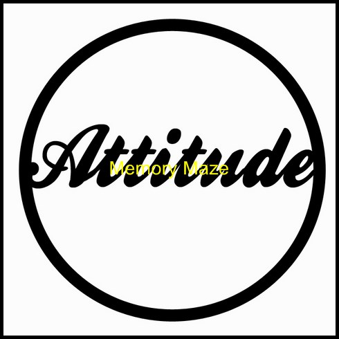 Attitude  in circle 75 x 75  bulk bag of 10  Memory maze